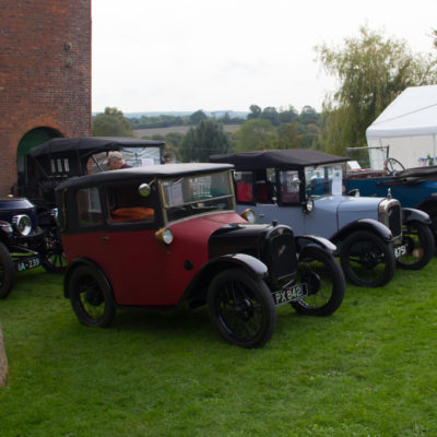 Vintage cars as Crofton's Steam Gala