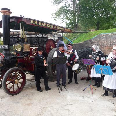 Steam Gala attraction