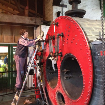Cleaning the boiler
