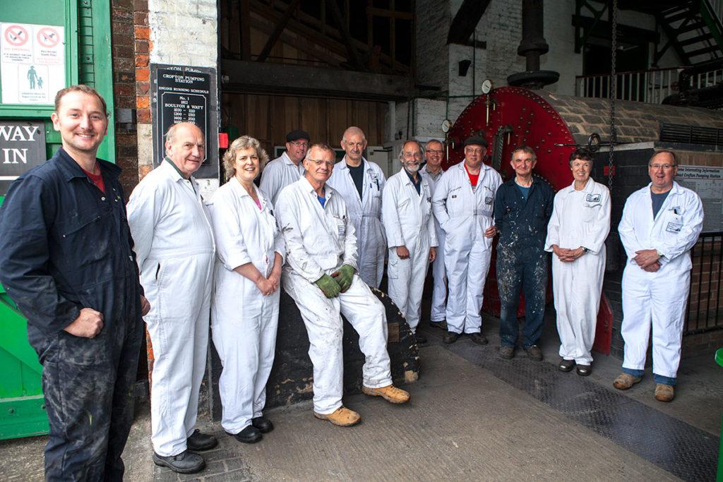The dedicated team of volunteers at Crofton