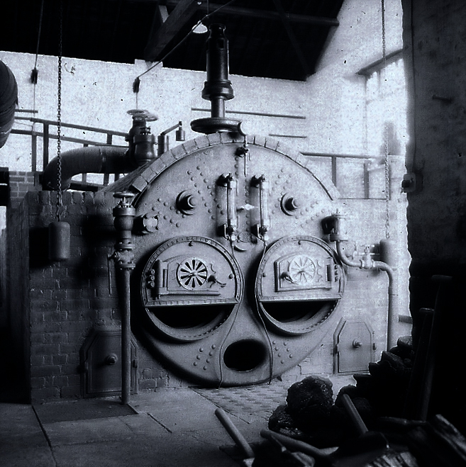 The boiler at Crofton