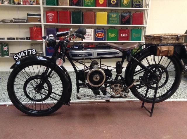Douglas Motorcycle, 1924